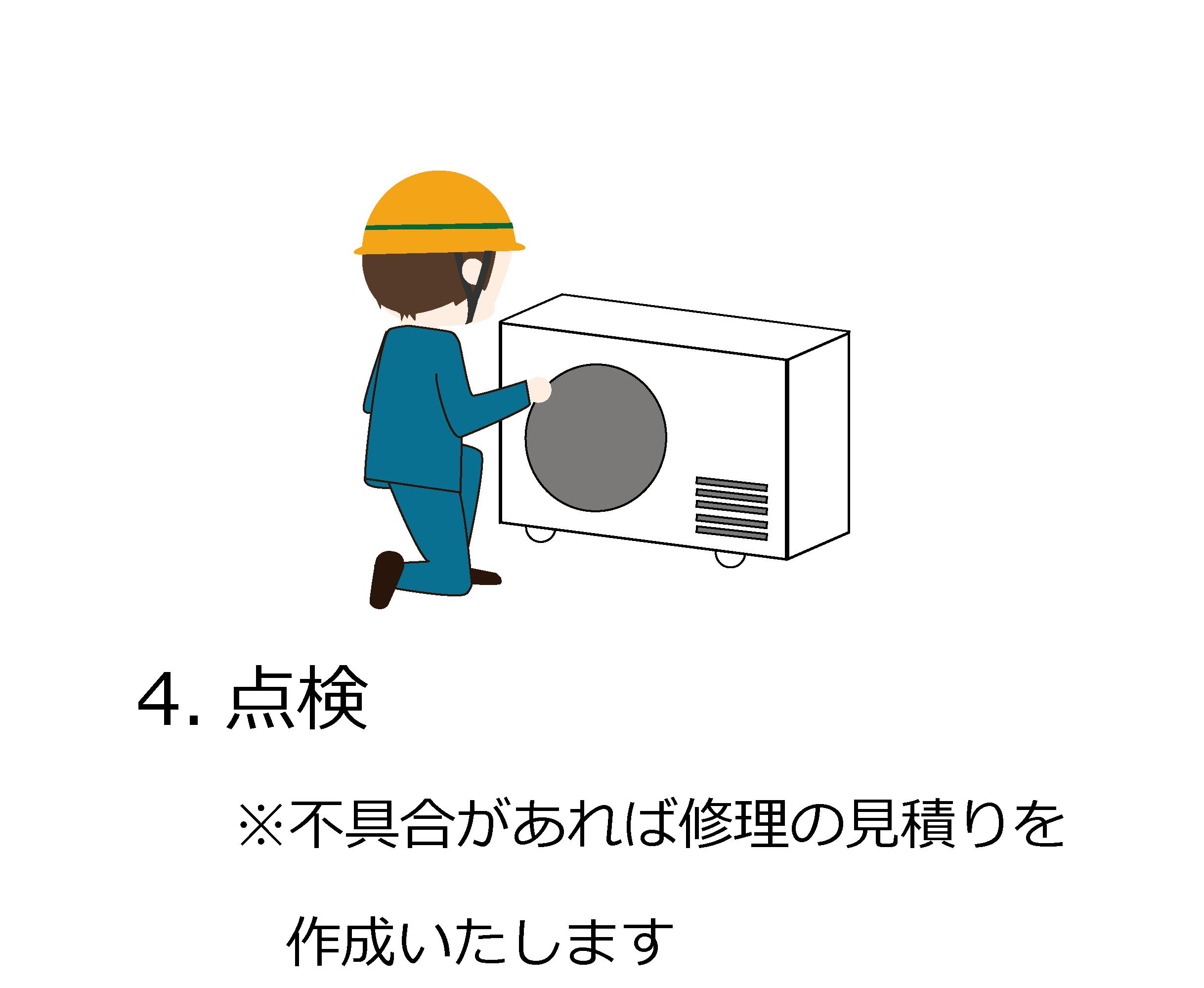 点検・修理